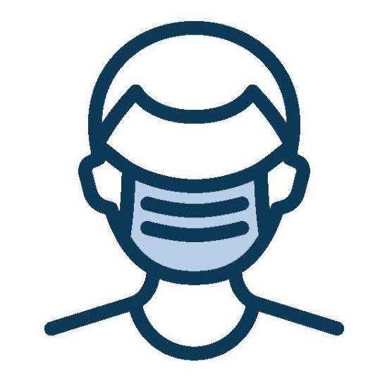 masque visage COVID